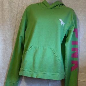 🗺️ PINK VICTORIA'S SECRET Hoodie Sweatshirt